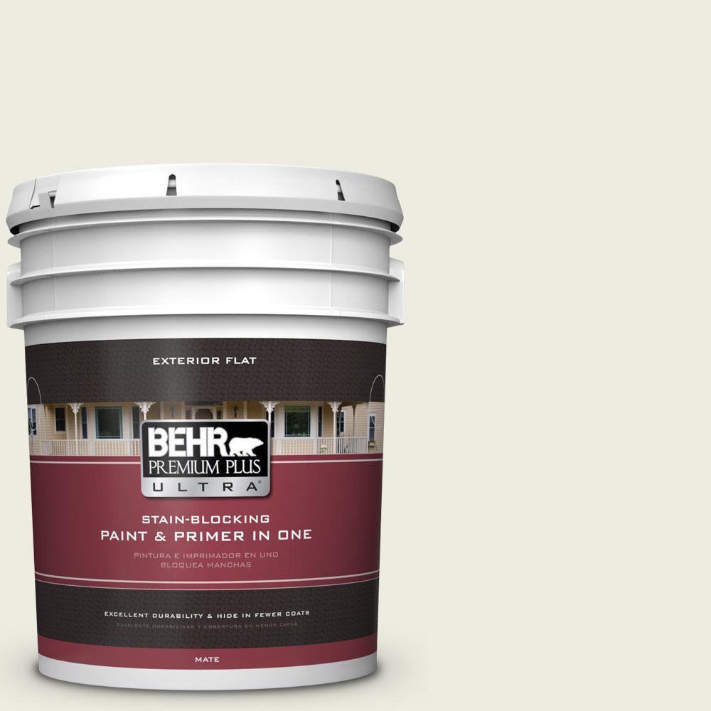 BEHR Premium Plus Ultra 5-gal. #420E-1 Hemlock Bud Flat Exterior Paint