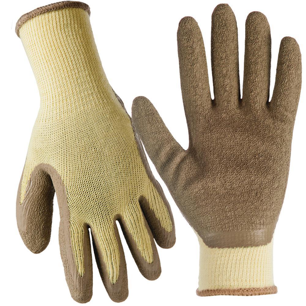 X-Large General Purpose Latex Coated Gloves (20-Pair)