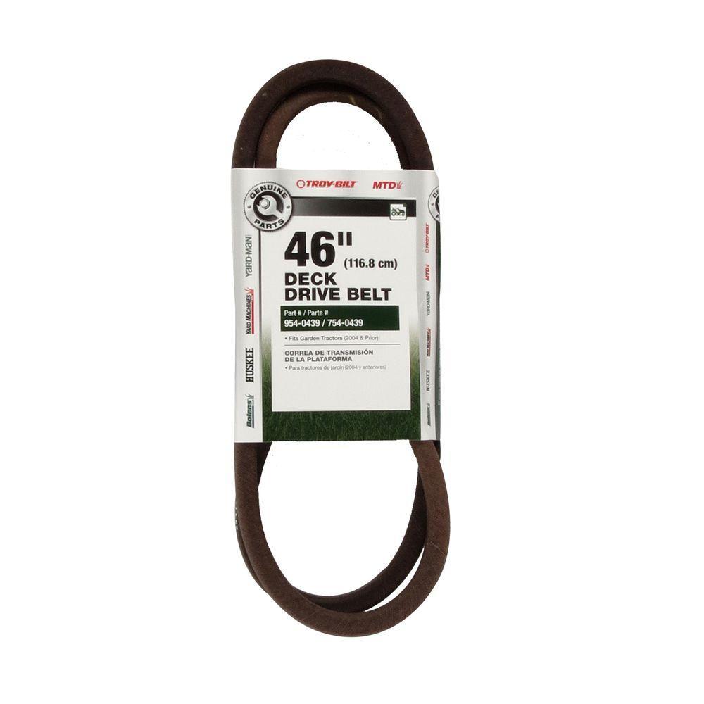 46 in. Deck Drive Belt