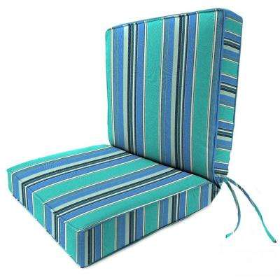 Sunbrella Dolce Oasis Outdoor Dining Chair Cushion