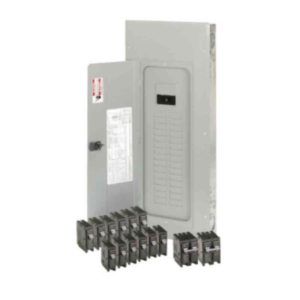 Eaton 200 Amp 30-Space 40-Circuit BR Main Breaker Loadcenter Value Pack (Includes 14 Breakers)