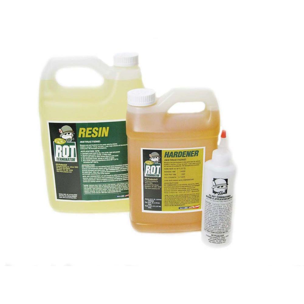 PC Products 1.5 gal. PC-Rot Terminator Wood Hardener