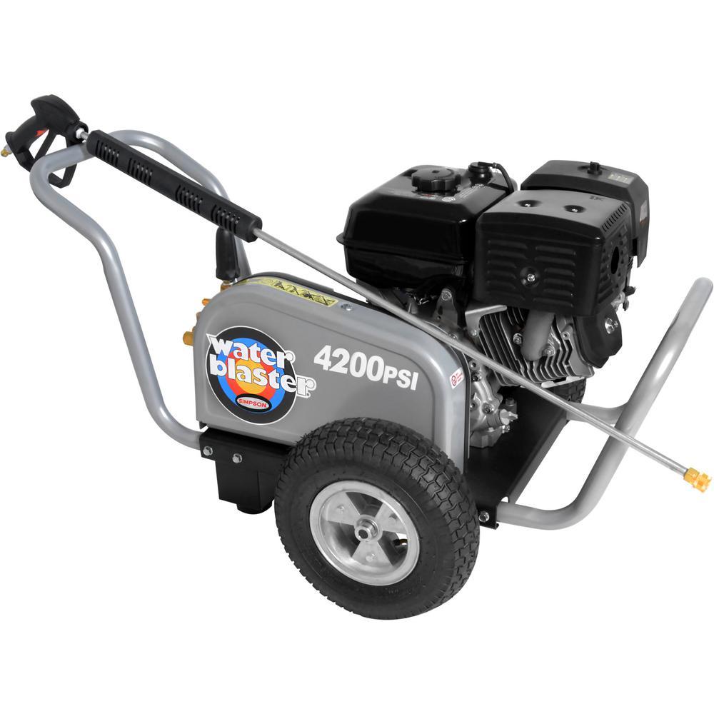 Water Blaster 4,200 psi 4.0 GPM Belt Drive Gas Pressure Washer Powered by Honda