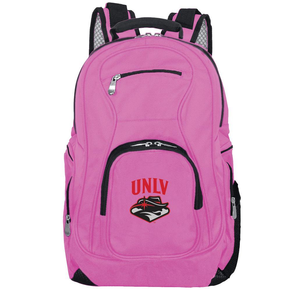 NCAA UNLV Rebels 19 in. Pink Laptop Backpack
