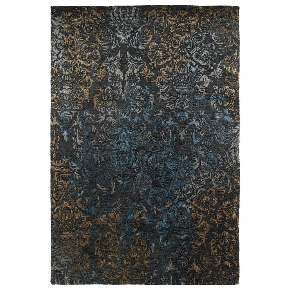 Mercery Charcoal 5 ft. x 7 ft. 9 in. Area Rug