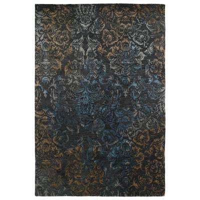 Mercery Charcoal 8 ft. x 11 ft. Area Rug