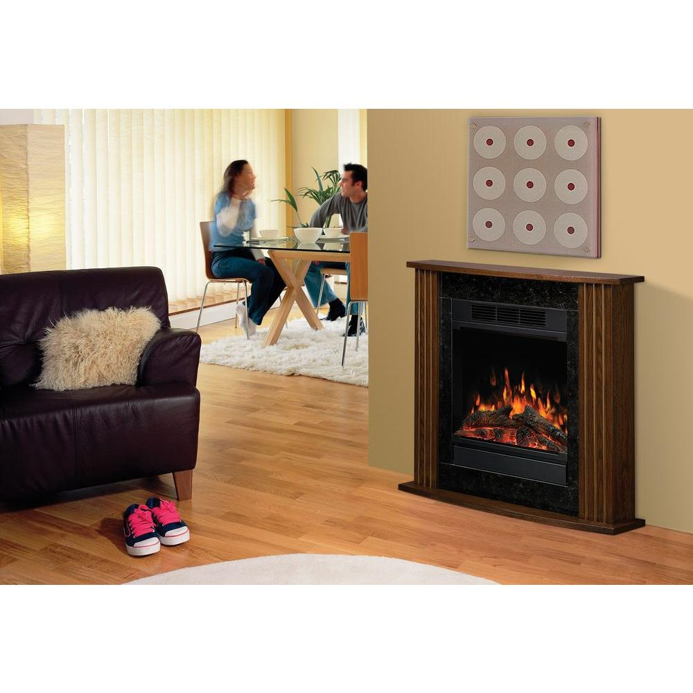 Dimplex 15 in. Compact Electric Fireplace in Nutmeg-DISCONTINUED