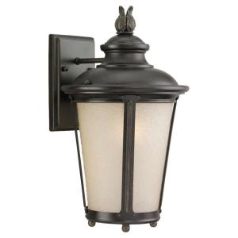 84048-185 Sea Gull Lighting Single-Light Yorktown Wall Lantern in Forged Iron