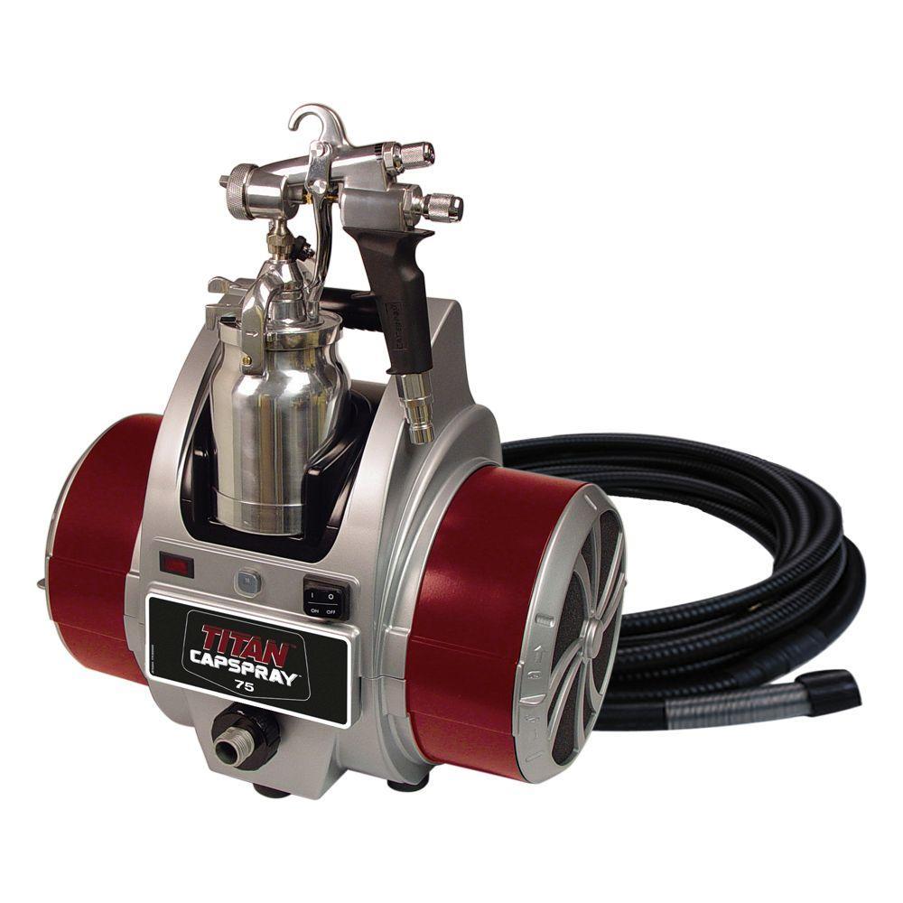 Titan Capspray 75 Fine-Finish Hvlp Paint Sprayer