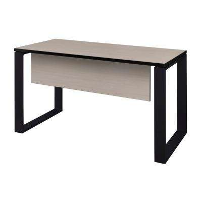 Structure 42 in. x 24 in. Maple Training Table with Modesty Panel