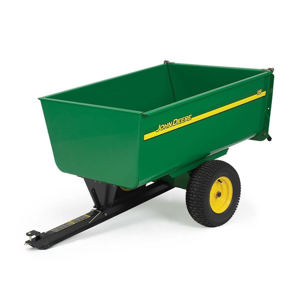 John Deere 1,650 lb. 18 cu. ft. Tow-Behind Steel Utility Cart by John Deere