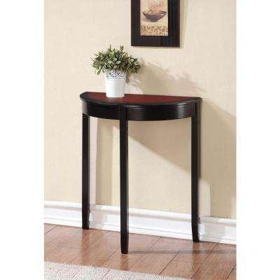 Camden Black Cherry Console Table