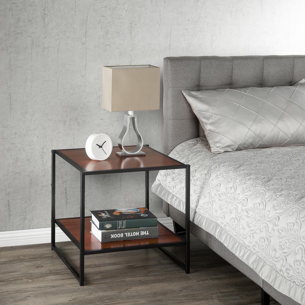 Modern Studio Chestnut Side Table