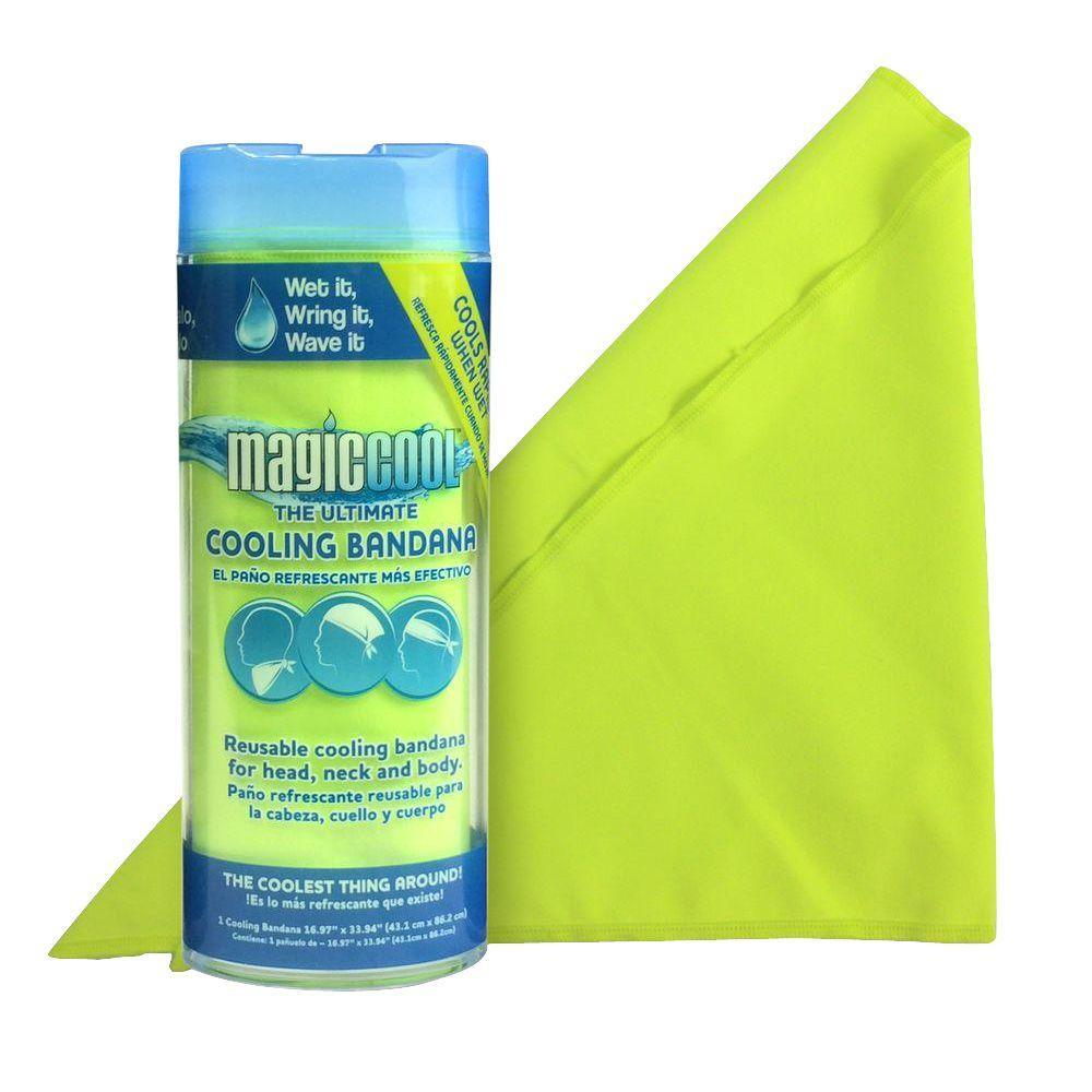 Hi-Vis Yellow Personal Cooling Bandana