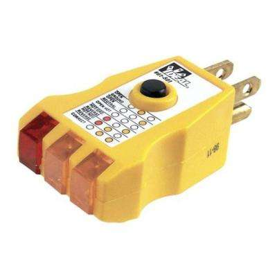 Receptacle Tester with GFCI (Standard Package, 2 Testers)
