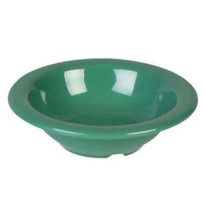 Coleur 4 oz., 4-3/4 in. Salad Bowl in Green (12-Piece)