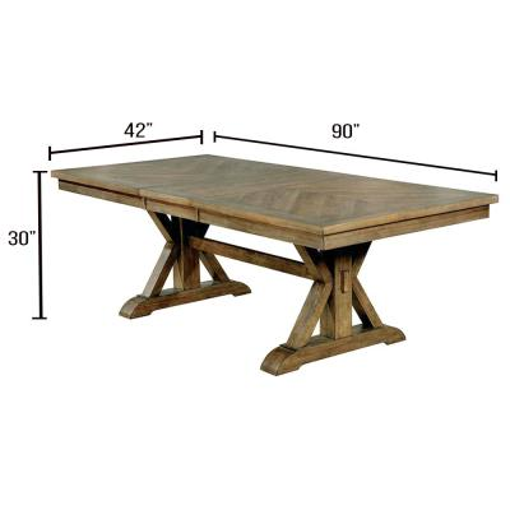 Julia Light Oak Dining Table