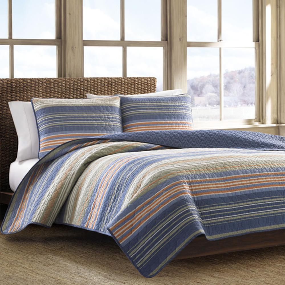Yakima Valley Persimmon Twin Quilt Set (2-Piece)