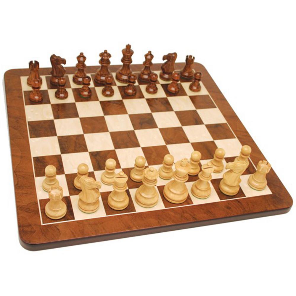English Wood Chess Set