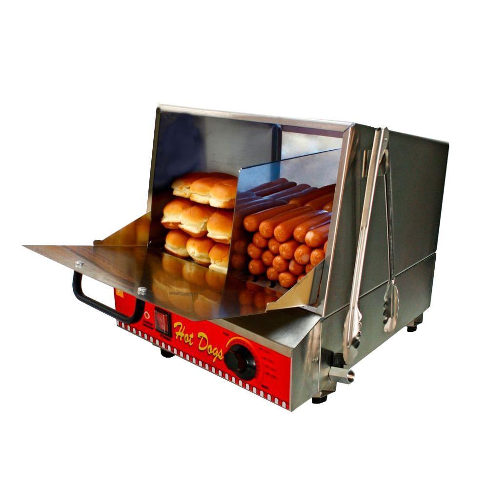 Classic Hot Dog Steamer