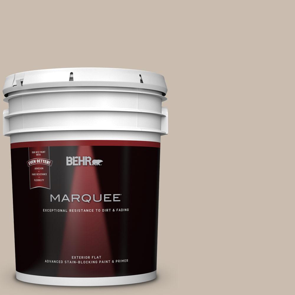 Home Depot Exterior Paint: BEHR MARQUEE 5-gal. #PPU5-13 Creamy Mushroom Flat Exterior