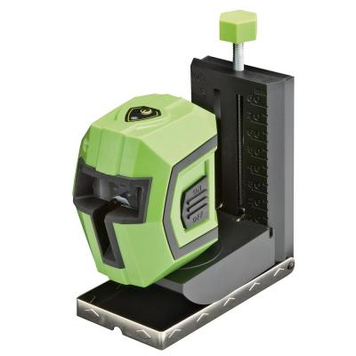 Self-Leveling Cross-Line Laser Level with Mode Lock, Magnetic/Adjustable Base, Clamp, Laser Pouch and Batteries