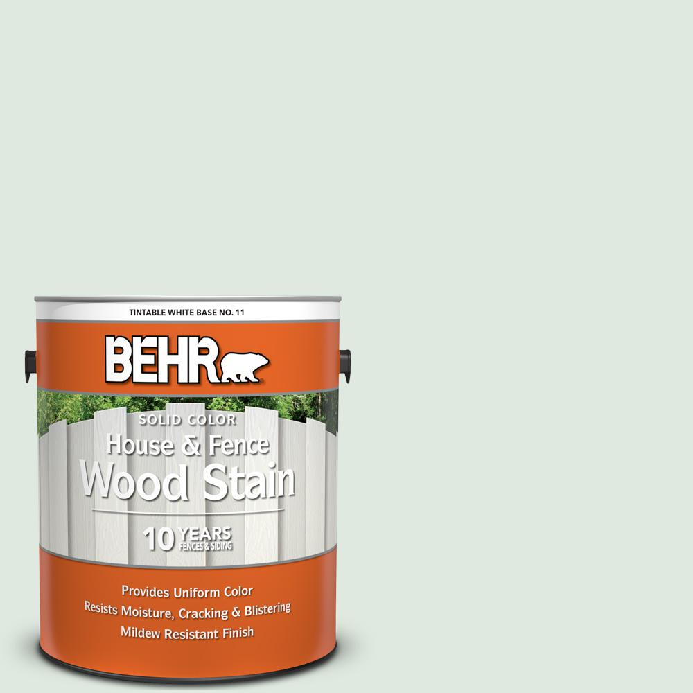 BEHR 1 gal. #470E-2 Water Mark Solid Color House and Fence Exterior Wood Stain