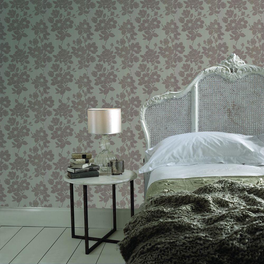 Graham & Brown Rose Beige Removable Wallpaper