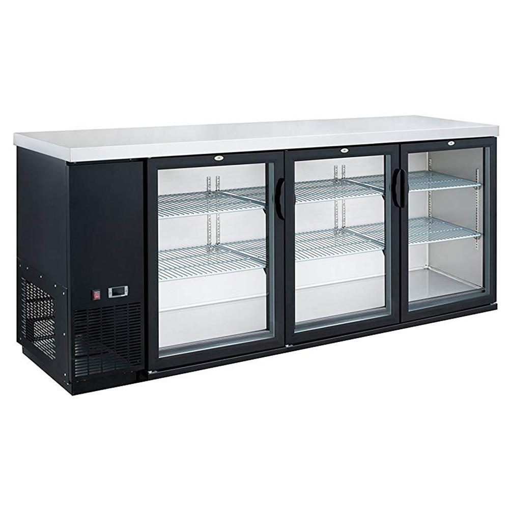 Dukers 19.1 cu. ft. 3 Door Bar and Beverage Cooler