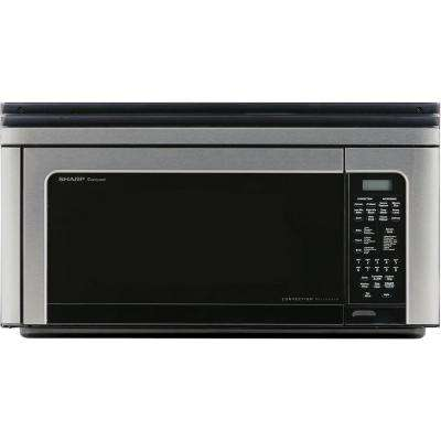 1.1 cu. ft. Over-the-Range Convection Microwave Oven in Stainless Steel