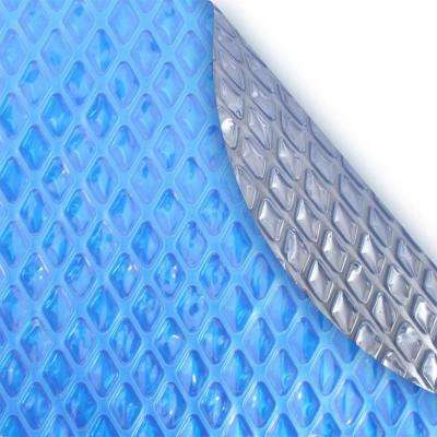 Deluxe 15 ft. x 30 ft., 5-Year Oval Solar Pool Blanket
