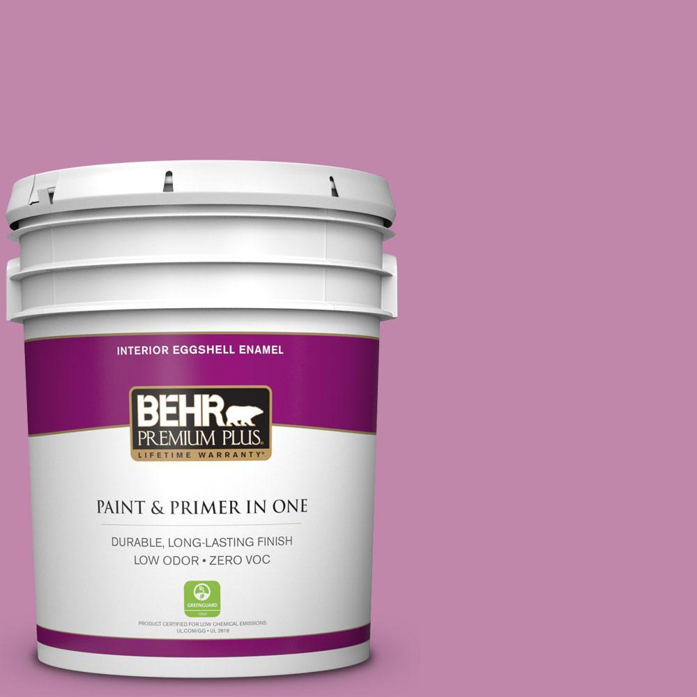 BEHR Premium Plus 5-gal. #M120-5 Rosy Eggshell Enamel Interior Paint