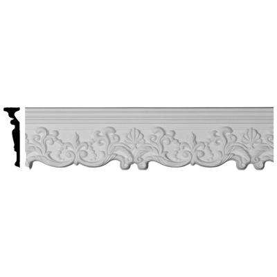 1-1/8 in. x 5-1/8 in. x 94-1/2 in. Polyurethane Emery Panel Moulding