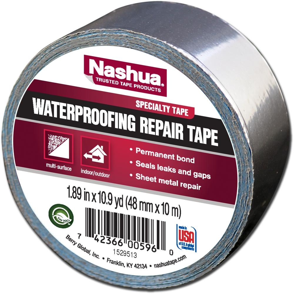 Nashua Tape 1.89 in. x 10.9 yd. Waterproofing Repair Tape-1207802 ...