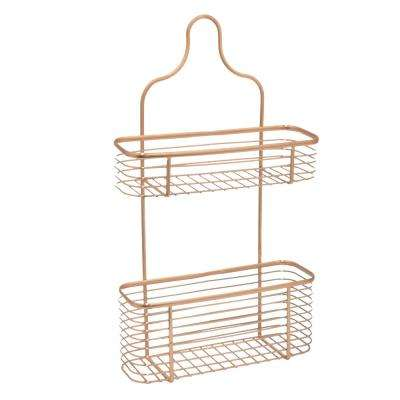 Copper Metal Shower Caddy