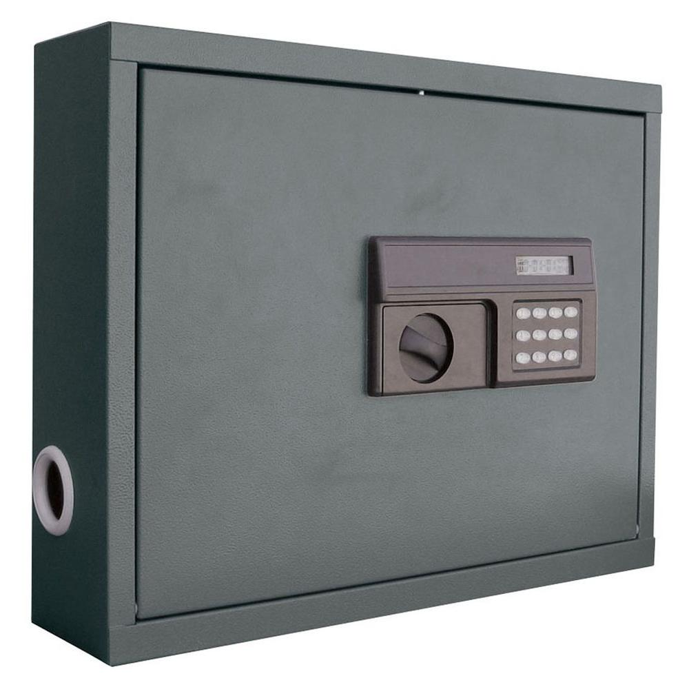 .85 cu. ft. All Steel Wall Mount Laptop Safe with Electronic