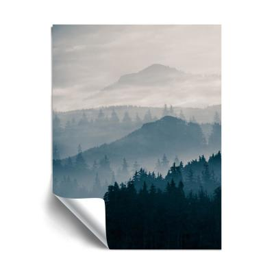 """Blue Mountains I"" Landscapes Removable Wall Mural"