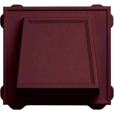 6 in. Hooded Siding Vent #078-Wineberry
