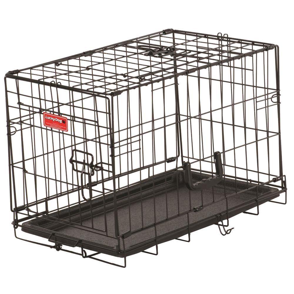 22 in. Long Training Crate with 2-Door