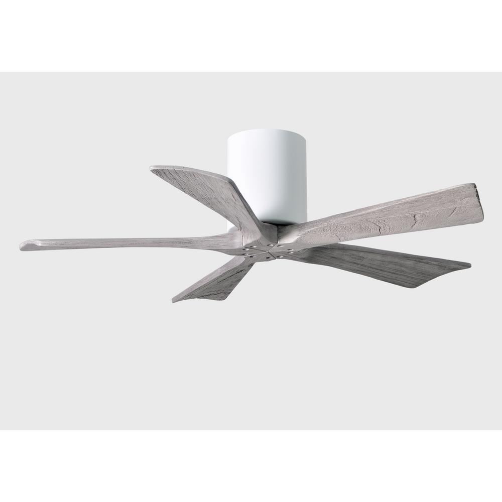Irene 42 in. Indoor/Outdoor Gloss White Ceiling Fan With Remote Control