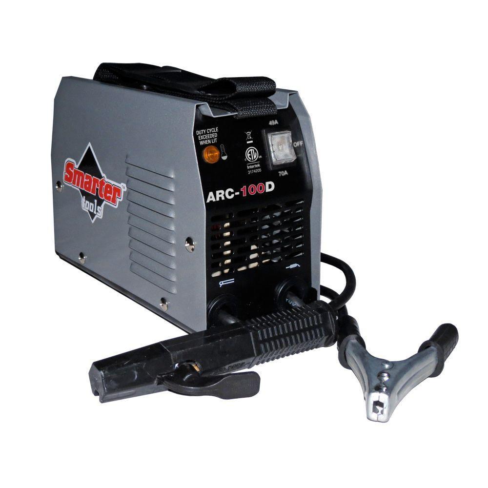 Smarter Tools 120-Volt 100 Amp AC Stick Welder-ARC-100D - The Home Depot
