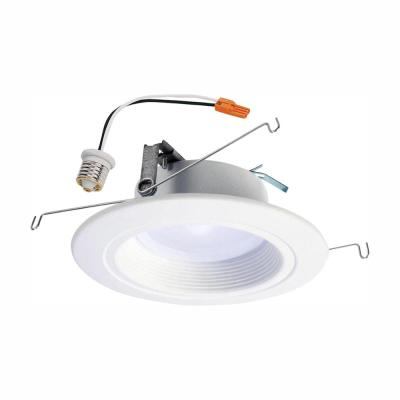 RL 5 in. and 6 in. White Integrated LED Recessed Ceiling Light Trim at Selectable CCT, Extra Brightness (940 Lumens)