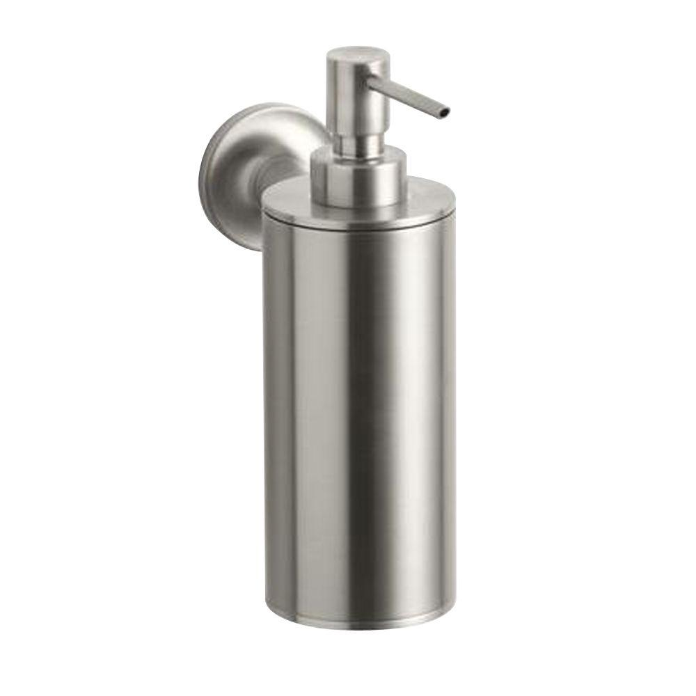 Kohler Purist Wall Mount Metal Soap Dispenser In Vibrant