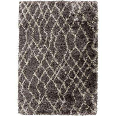 Yalusa Taupe 8 ft. x 10 ft. Indoor Area Rug