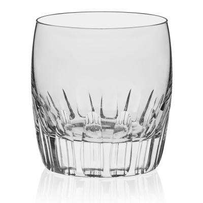 Signature Kentfield 4-Piece Chisel Rocks Glass Set