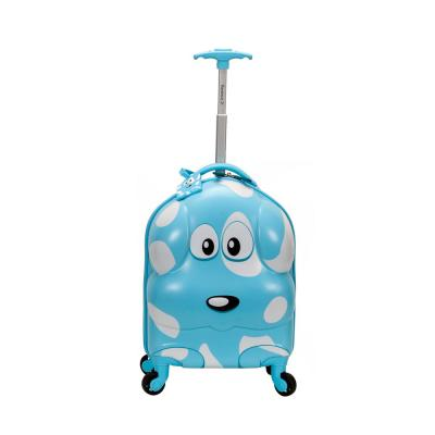 Rockland 17 in. Jr. Kids' My First Polycarbonate Hardside Spinner Luggage, Puppy