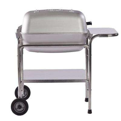 PK Grills Original Grill and Smoker in Silver