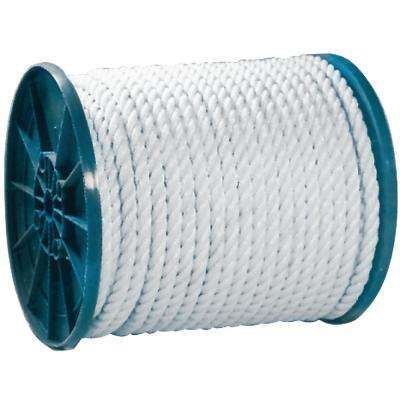 5/16 in. x 600 ft. Twisted Nylon Rope, White