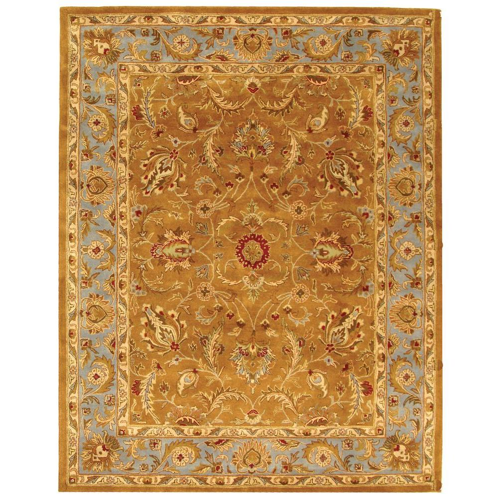 Safavieh Heritage Brown/Blue 12 ft. x 18 ft. Area Rug