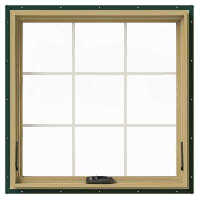 36 in. x 36 in. W-2500 Awning Aluminum Clad Wood Window